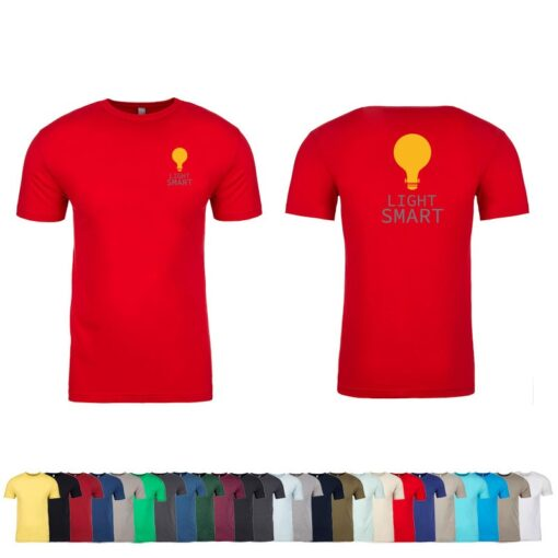 Next Level™ Men's Sueded Crew T-Shirt
