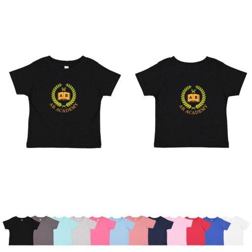 Rabbit Skins Infant Colored Fine Jersey T-Shirt