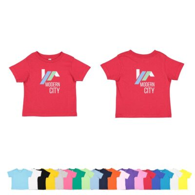Rabbit Skins Toddler Colored Cotton Jersey T-Shirt