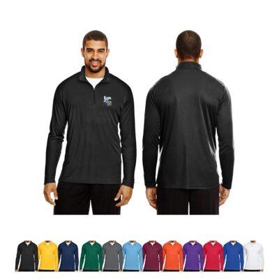 Team 365® Men's Zone Performance Quarter-Zip Shirt