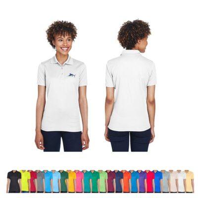 UltraClub® Ladies' Cool & Dry Mesh Piqué Polo Shirt