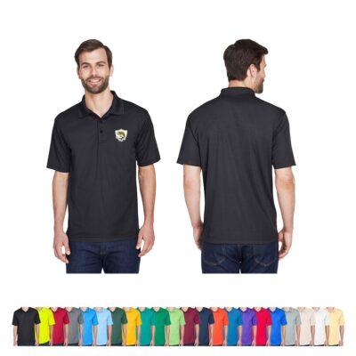 UltraClub® Men's Cool & Dry Mesh Piqué Polo Shirt