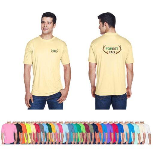 UltraClub® Men's Cool & Dry Sport Performance Interlock T-Shirt