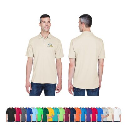 UltraClub® Men's Cool & Dry Stain-Release Performance Polo Shirt