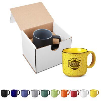 15 Oz. Campfire Ceramic Mug in Individual Mailer - Colors