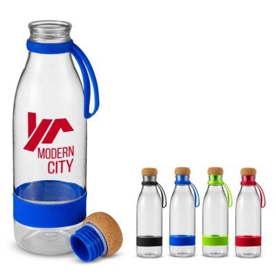 22 Oz. Restore Water Bottle w/Cork Lid
