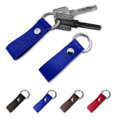 Leeman™ Foundry Leather Key Fob